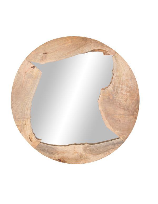 """Espejo de Madera 48""""D"""