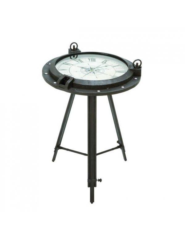 Mesa de reloj de metal
