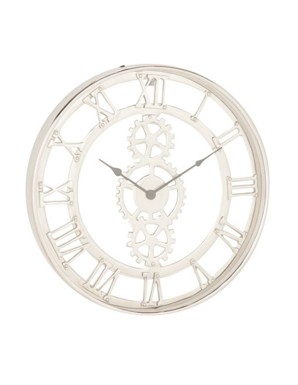 "MTL WALL CLOCK 20""W, 20""H"
