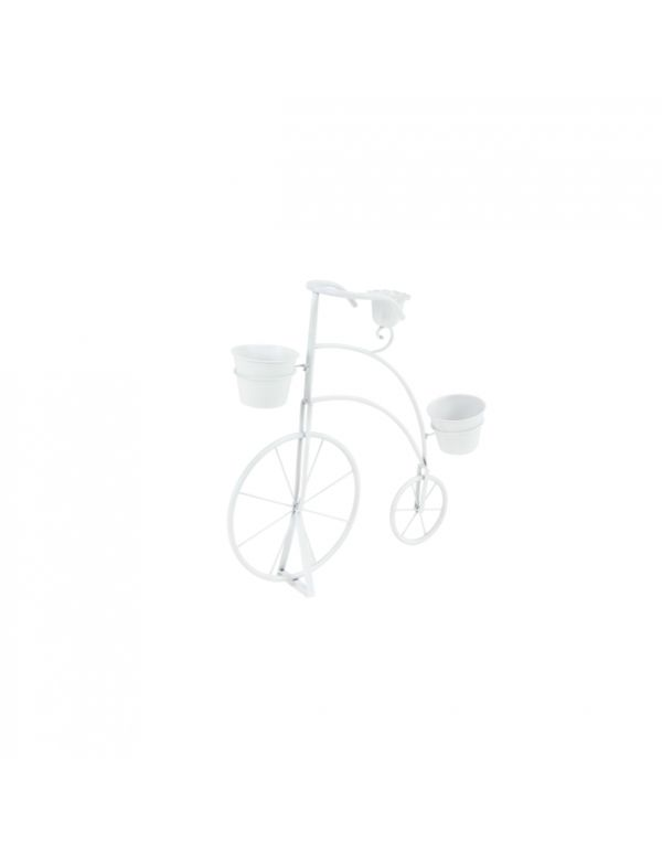 "MTL BICYCLE PLNTR 27""W, 26""H"