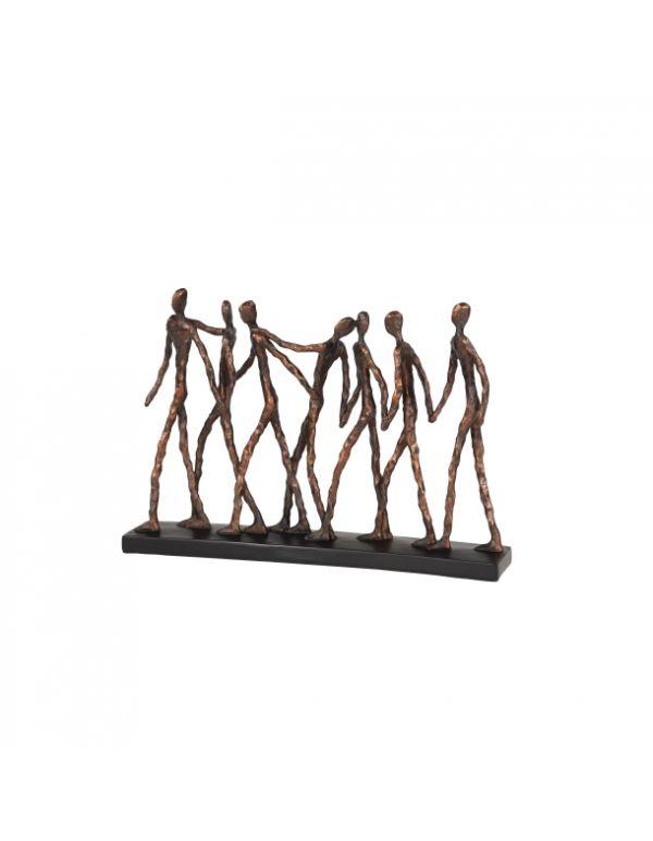 """Escultura 15""""W, 11""""H"""