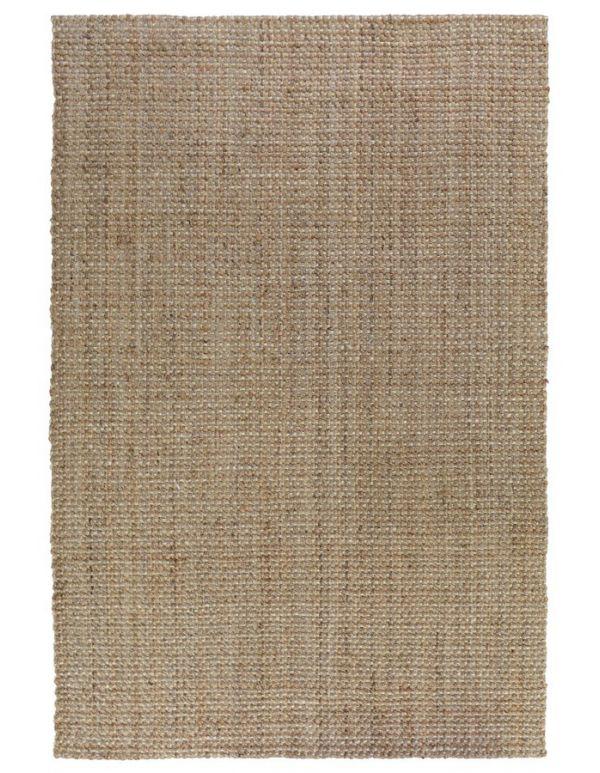 Tapete tejido Panama Rayas Natural/marfil 2x3